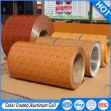 Les bobines en aluminium à revêtement de couleur pour la construction de l'intérieur du matériel de décoration de feuille