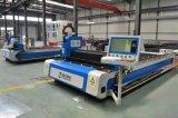 Machines de découpage de laser de fibre de commande numérique par ordinateur pour de plaque métallique