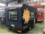 옥외 이동할 수 있는 음식 트럭 또는 음식 밴 또는 음식 트레일러