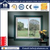 Fenêtre coulissante en aluminium à double vitrage chaude