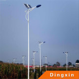 60W Solar LED Street Lighting mit Polen 8m 9m