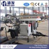 Hf120Wのトレーラーのタイプ回転式掘削装置
