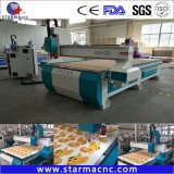 1300X2500mmの木のドアの家具は芸術木製CNCのルーターを制作する