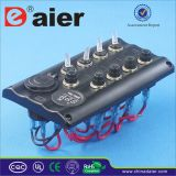 12V Automotive Interruptor de Interruptor Panel de Montaje / Barco Marine Switch Panel