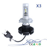 自動車のLightech X3 H4 LED車ライト