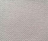 100% coton tissé la toile Tissu gris