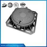 Coperchio di botola duttile del ferro B125/C250/D400 dal pezzo fuso di sabbia