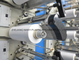 Bolso plástico automatizado automático de alta velocidad de la gasa de vuelta del acoplamiento del PE de los PP que hace la máquina