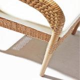Сада мебели рамки хорошего качества журнальный стол алюминиевого напольного круглый в Wicker PE