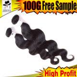 Tecelagem brasileira do cabelo do tom do cabelo humano dois de Kbl