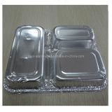 Contenitore di alimento a gettare di alluminio dell'imballaggio