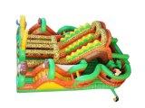 Doppelweg-Safari-aufblasbarer Hindernis-Kurs für Verkauf Chob543