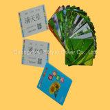 Tarjetas educativas plásticas de las tarjetas de juego para el estudio de Chilldren