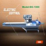 Lleno de acero inoxidable 304 Servomotores Sami-Automatic galleta pequeña máquina de embalaje