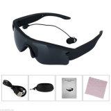 Поляризовыванные пары шлемофона наушников Bluetooth спорта MP3 солнечных очков с 2 телефонами