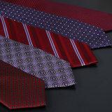 Attache de professionnels de haute qualité marié cravate rouge cravate de mariage BZ0003