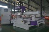 Aprovado pela CE de quatro etapas de trabalho de madeira engravador CNC