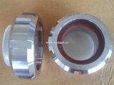 Sanitaria de acero inoxidable SS304 / 316L Unión Mirilla