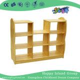 Kindergten pequeños juguetes de madera Mobiliario de almacenaje (HG-4309)