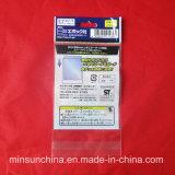 Impressão de saco de plástico auto-adesiva de cabeçalho OPP