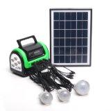 Sonnenenergie beleuchtet 5W 6V Solarlicht mit Solarlampe 3PCS mit FM Radio-MP3 Solar Luz