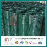 Un PVC verde dei 16 calibri ha ricoperto la rete metallica saldata galvanizzata Rolls