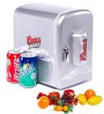 Mini-frigorífico de carro portátil Cw7-4L com 4 litros, DC12V, AC100-240V