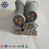Hebei Huatong Types Qypny Qypny Qypn,,, Qyeey Qyee Qyen,,,,, Qyjeq Qyyeq Qyyeey 1.8/3kv Ruban d'acier câble blindé de la pompe à huile submersible esp