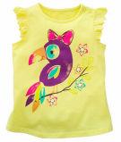印刷Sgt-066を用いる子供の衣服の方法文字の女の子のTシャツ