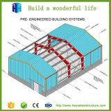 Alto diseño de la vertiente del edificio de la estructura de acero del marco del espacio de la subida