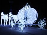Уличный свет лошади водоустойчивый СИД мотива украшения 3D рождества