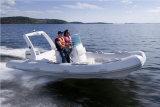 Barco de motor inflável rígido de /Rib do barco de pesca de Aqualand 19feet 5.7m (RIB570B)