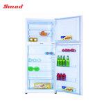388L roll bond Evaporator double Door Compressor Refrigerator Freezer
