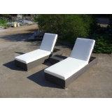 Jardin Mobilier de jardin personnalisés moderne chaises en rotin Chaise longue de plage