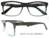 Montature per occhiali di legno Handmade del monocolo dell'acetato di modo superiore all'ingrosso