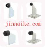 Automatischer schiebendes Gatter-Stahlstopper mit Grundplatte und Gummi für Türen
