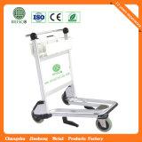 Trolley de aeroporto de aço inoxidável de 3 rodas