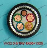 中国の高品質の銅のコンダクターPVC/XLPEの絶縁体PVC外装の鋼線の装甲電源コード