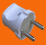 Штепсельная вилка /10A штепсельной вилки 2 Pin с предохранением от утечки