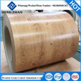 De houten Rol van het Aluminium van de Korrel voor Binnen en OpenluchtDecroation