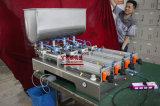 Полуавтоматные мазь 4 головок/затир/сливк/соус и жидкостная машина завалки 100-1000ml (G4WGD)