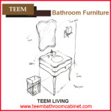2016 최신 Sell Wall Hung Solid Wood 현대 Bathroom Vanity