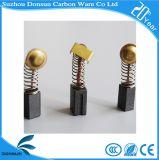 Щетки углерода в форме графита Donsun оптовые черные для електричюеских инструментов