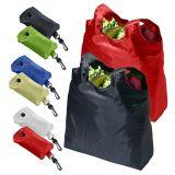 Faltbare Einkaufstasche mit kundenspezifischem Firmenzeichen (BG-015)