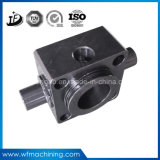 Kupferne/Messingstahlaluminiumfräsmaschine-CNC maschinell bearbeitete Teile