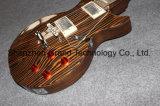 Гитара новой зебры 2017 деревянная электрическая с кораблем Кореи (GLP-518)