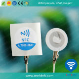 ISO14443A Copper Paper13.56MHz Ntag213 Adhésif RFID NFC Sticker