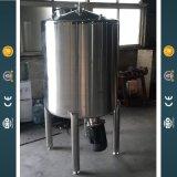 Réservoir de mélange d'agitateur de bas de structure de cône de double d'acier inoxydable