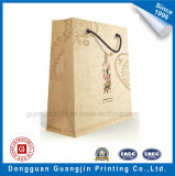 High Quality Brown Kraft Papier commercial Sac à main Carry Bag