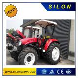 Tractor rodado agrícola de Yto, 90HP, tractor de granja 4WD (YTO-X904)